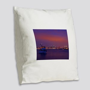 San Diego gifts and t-shirts Burlap Throw Pillow