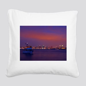 San Diego gifts and t-shirts Square Canvas Pillow