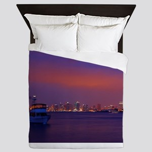 San Diego gifts and t-shirts Queen Duvet