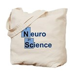 Periodic neuroscience Tote Bag