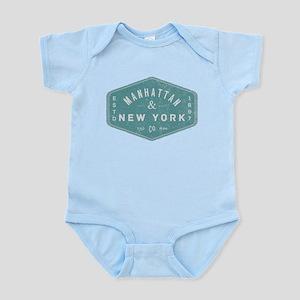 Manhattan New York City Vintage Logo lig Body Suit