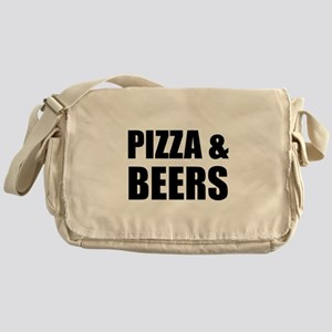 Pizza And Beers Messenger Bag