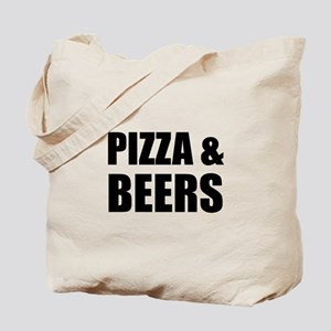Pizza And Beers Tote Bag