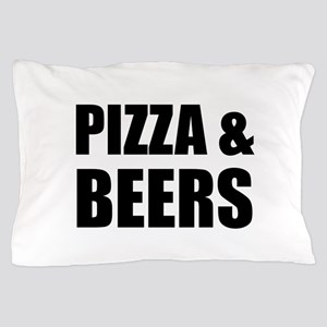 Pizza And Beers Pillow Case