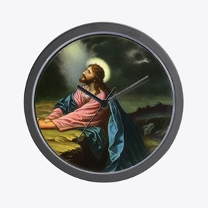 Vintage Jesus Christ Wall Clock