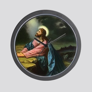 Vintage Jesus Christ Wall Clock