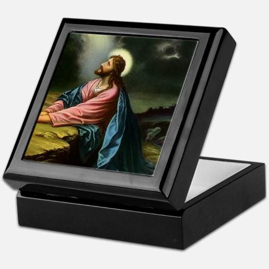 Vintage Jesus Christ Keepsake Box