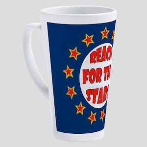 STARS 17 oz Latte Mug