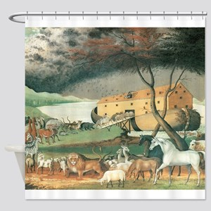 Noah's Ark by Edward Hicks Shower Curtain