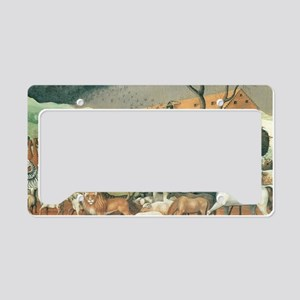 Noah's Ark by Edward Hicks License Plate Holder