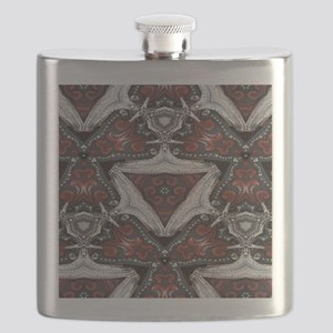 western leather rustic cowboy Flask