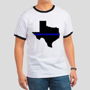 Thin Blue Line (Texas) T-Shirt
