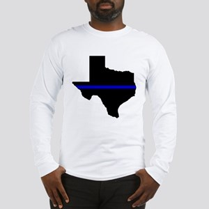 Thin Blue Line (Texas) Long Sleeve T-Shirt