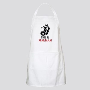 This is Sparta! BBQ Apron