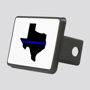 Thin Blue Line (Texas) Hitch Cover