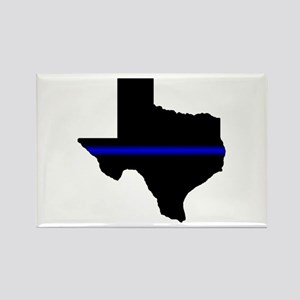 Thin Blue Line (Texas) Magnets