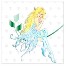 Bella the Blue Fairy  Poster