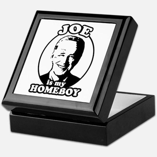 Joe is my homeboy Keepsake Box
