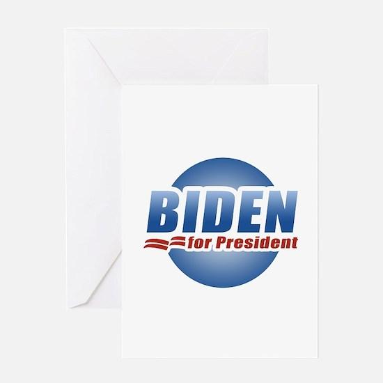 Biden for President Greeting Card