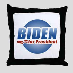 Biden for President Throw Pillow