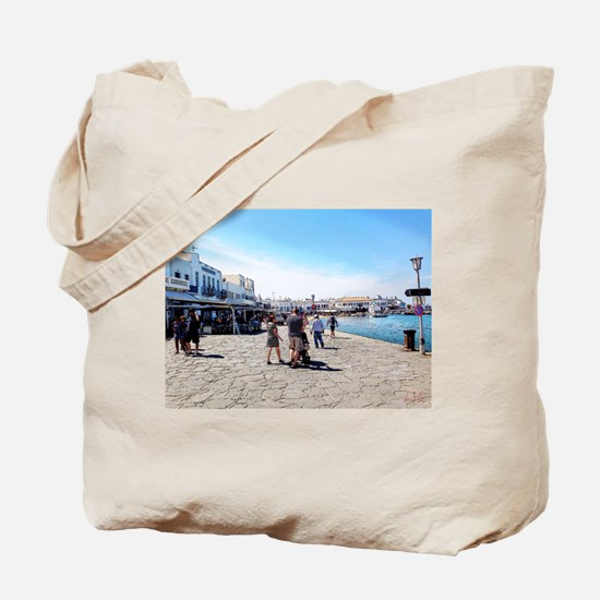 Postcard From Greece Tote Bag