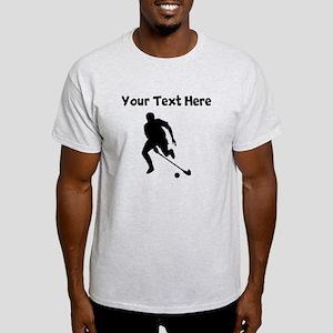 Field Hockey Player Silhouette T-Shirt