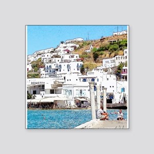 The Hills of Greece Sticker