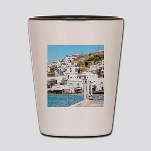 The Hills of Greece Shot Glass