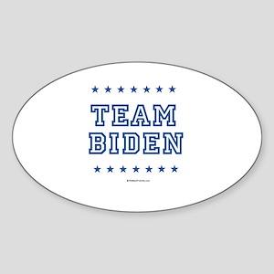 Team Biden Oval Sticker