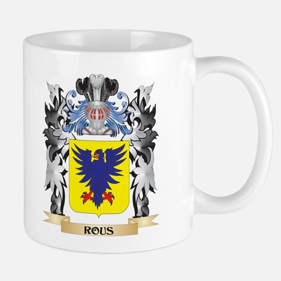Rous Coat of Arms - Family Crest Mugs