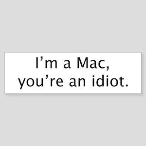 """""""I'm a Mac"""" Bumper Sticker"""