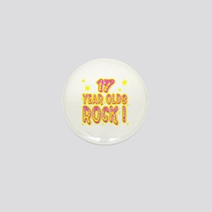 17 Year Olds Rock ! Mini Button