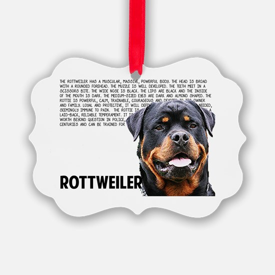 Cute Rott Ornament