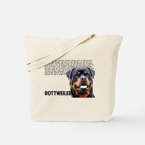 Unique Rott Tote Bag