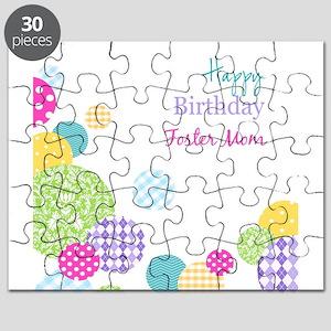 Happy Birthday Foster Mom Puzzle