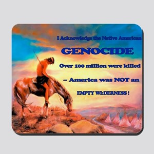 Genocide Mousepad