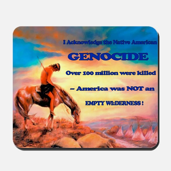 Genocide Mousepad