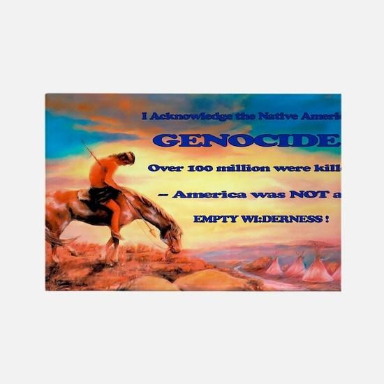 Genocide Rectangle Magnet