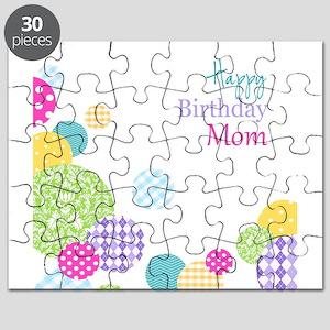 Happy Birthday Mom Puzzle