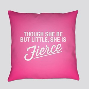 She Is Fierce Everyday Pillow