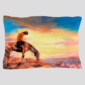 End of the Trail Pillow Case