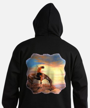 End of the Trail Hoodie (dark)