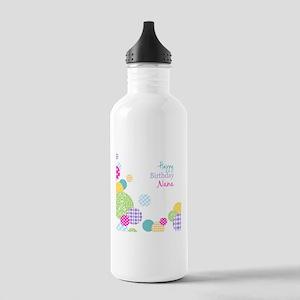 Happy Birthday Nana Sports Water Bottle