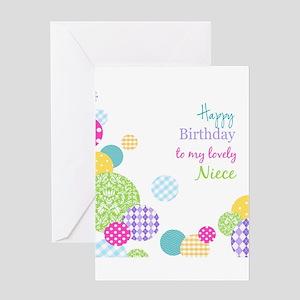 Happy Birthday Niece Greeting Cards