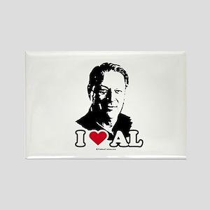 I Love Al Gore Rectangle Magnet