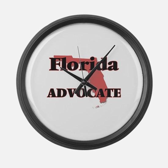 Florida Advocate Large Wall Clock