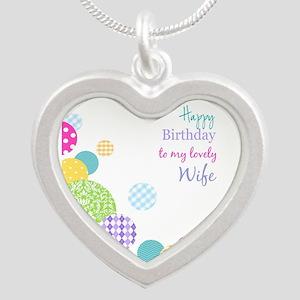 Happy Birthday Wife Necklaces