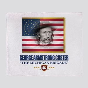 Custer (C2) Throw Blanket