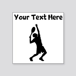 Tennis Player Sticker