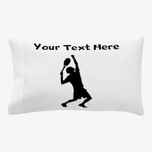 Tennis Player Pillow Case